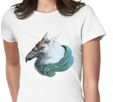 Griffon with Ribbon Womens Fitted T-Shirt