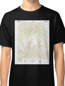 USGS TOPO Map Arizona AZ Willow Mountain SE 20111031 TM Classic T-Shirt