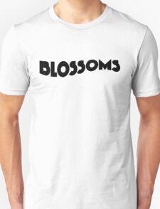 Blossoms Band Logo Black Unisex T-Shirt