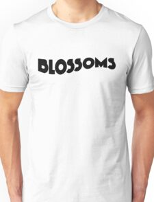 Blossoms Band Logo Black Unisex T-Shirt