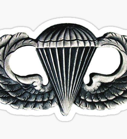 Paratrooper Jump Wings Sticker