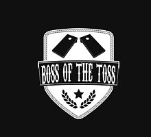 Boss Of The Toss Cornhole Game Tailgating Funny Gift T-Shirt Unisex T-Shirt