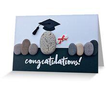You rock! - graduation 01 Greeting Card