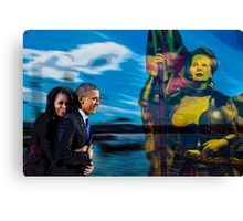 Allegory about  007  14 08   Canvas Print