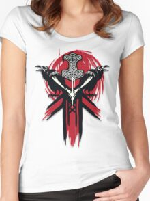 For Honor - Vikings Logo Women's Fitted Scoop T-Shirt