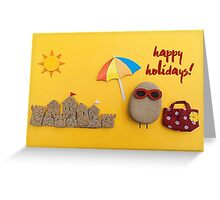 You Rock! - happy holidays 02 Greeting Card