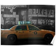 Teen Wolf - Times Square Taxi Poster
