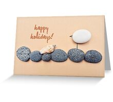 You Rock! - happy holidays 04 Greeting Card