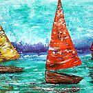 Sailboat Dreams by Laura Barbosa