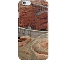 Glen Canyon Dam And Bridge iPhone Case/Skin