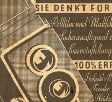 Rolleiflex 1938 Sticker