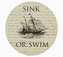 Sink Or Swim One Piece - Short Sleeve