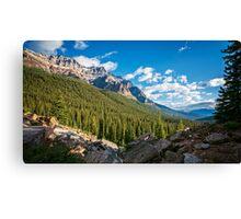 Valley Near Moraine Lake Banff Canvas Print