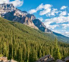 Valley Near Moraine Lake Banff Sticker