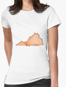 This is home-VT Womens Fitted T-Shirt