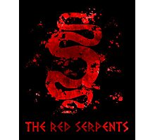 Spartacus - Red Serpent V3 Photographic Print