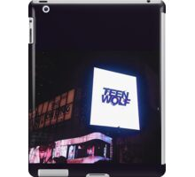 Teen Wolf - Times Square '3 iPad Case/Skin