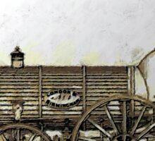 Bury Type Passenger Locomotive circa 1840 Sticker