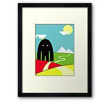 The Sky Maker Framed Print