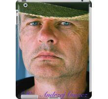 Blue Boy . Selfie - Andrzej Goszcz. Minolta A 200. iPad Case/Skin