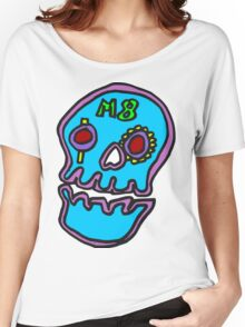 Zef - Skull Women's Relaxed Fit T-Shirt