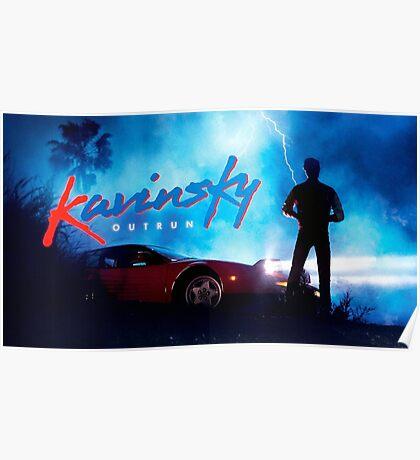 Kavinsky outrun Poster