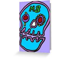 Zef - Skull Greeting Card