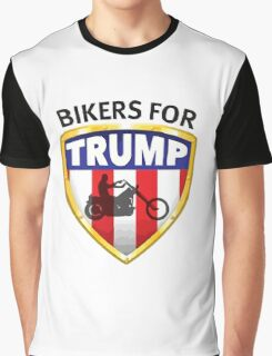 Bikers For Trump Graphic T-Shirt