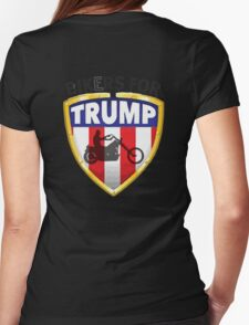 Bikers For Trump Womens Fitted T-Shirt