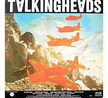 Talking Heads Vinyl Artwork Photographic Print