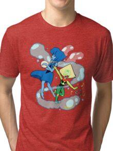 Peridot and Lapis meep-morp Tri-blend T-Shirt