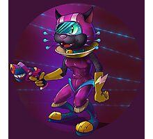 Intergalactic Kitten Photographic Print