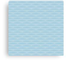 Just A Pattern #2: Baby blue Canvas Print