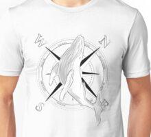 Travel whale Unisex T-Shirt