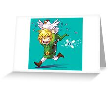 Cucco Run! - Legend of Zelda Greeting Card