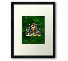Young Link Framed Print