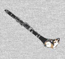 Clarinet cat Kids Tee