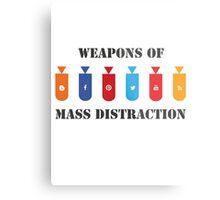 Social Distraction Metal Print