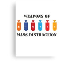 Social Distraction Canvas Print