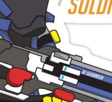 Overwatch - Cute Soldier 76 Sticker