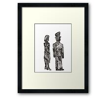 Lady and Gentleman Framed Print