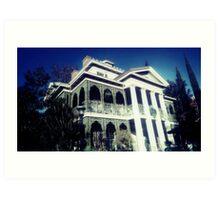Haunted Mansion Art Print