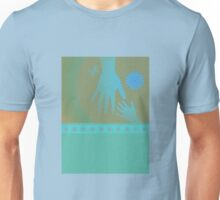 Babysitter Turquoise Tan Hands Unisex T-Shirt