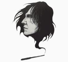 Severus Snape Alan Rickman RIP Kids Tee