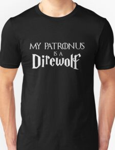 My Patronus is a Direwolf Unisex T-Shirt