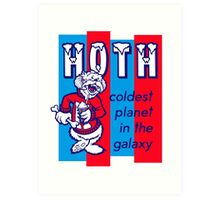 Coldest In The Galaxy - HOTH ICEE Art Print