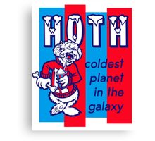 Coldest In The Galaxy - HOTH ICEE Canvas Print