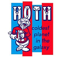 Coldest In The Galaxy - HOTH ICEE Photographic Print