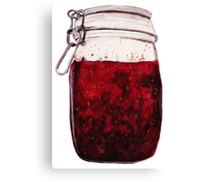 plain ol' jam jar Canvas Print