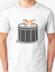 Drum cat Unisex T-Shirt